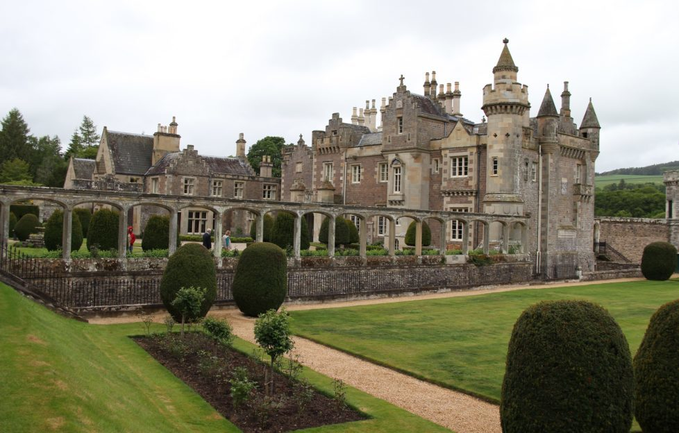 Abbotsford House is easily accessible from the new station at Tweedbank.