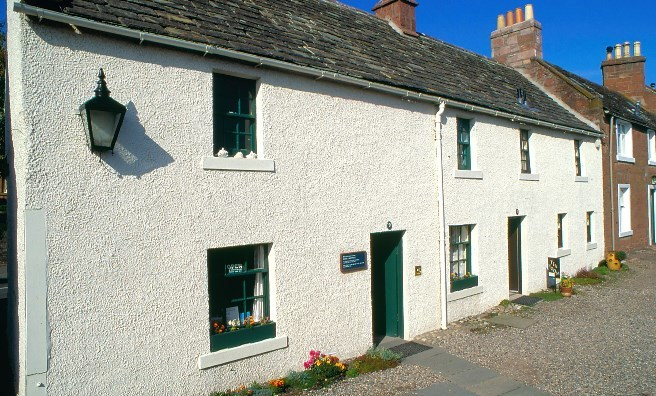 JM Barrie's Birthplace in Kirriemuir. Photo courtesy of National Trust for Scotland