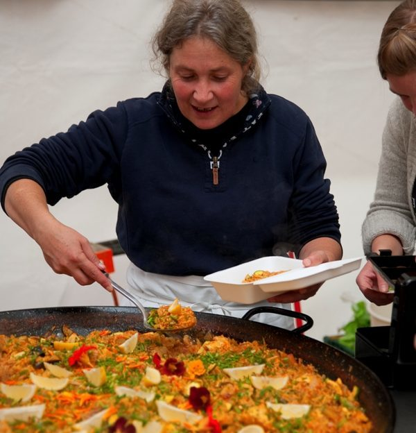Paella time at Best of the West