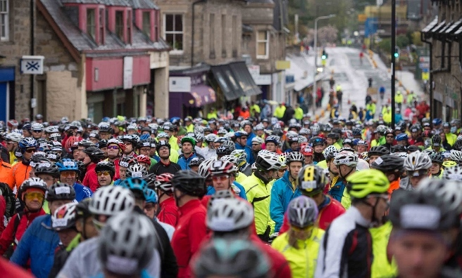 Marie Curie Cancer Care 2015 - Etape Caledonia. Spot anyone you know?!