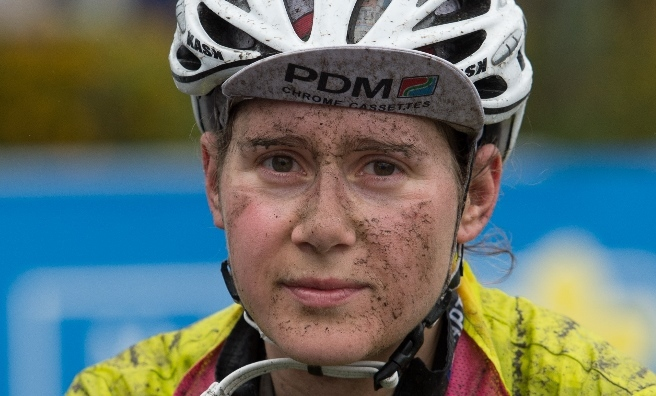 Mireille Captieux, first female finisher of Marie Curie Cancer Care 2015 - Etape Caledonia