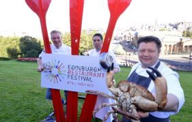 These chefs will be serving up a feast to kick off Edinburgh Restaurant Festival