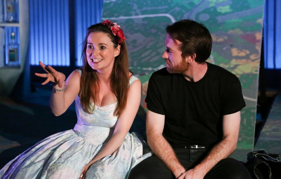 Midsummer (a play with songs) cast members. Pic: Viktoria Begg