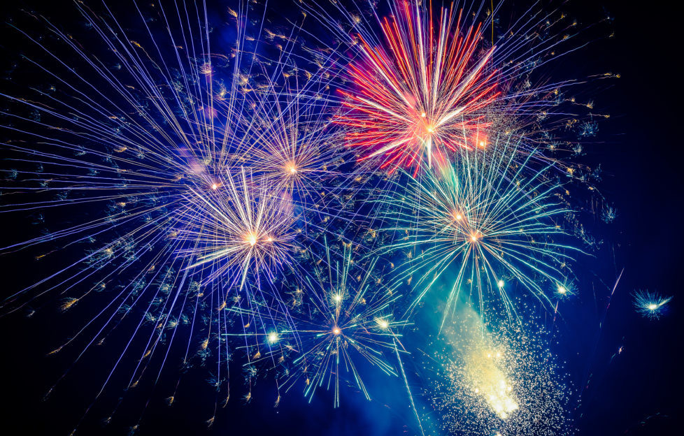 Fireworks will celebrate the 15th year of the Alfred Dunhill Links Championship! Pic: Shutterstock