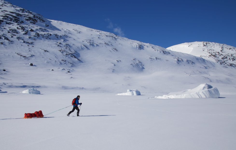 Training in Greenland