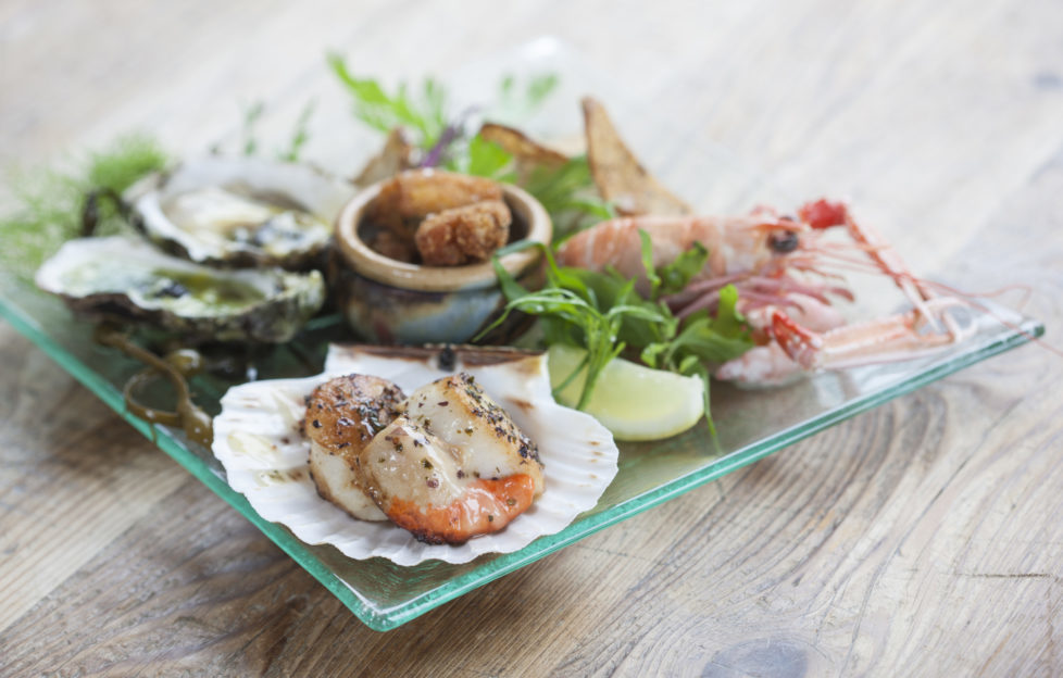 Mouth-watering cuisine at The Three Chimneys. Pic: Angus Bremner