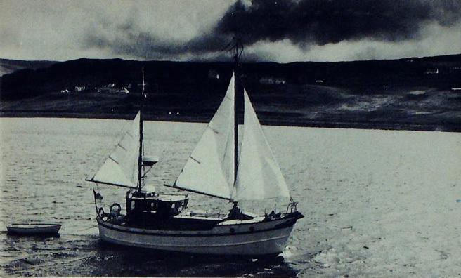 Tom Weir is off to the Monach Islands