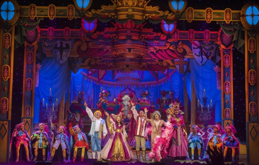 The finale of Snow White & The Seven Dwarves at the King's Theatre. Photo by Douglas Robertson