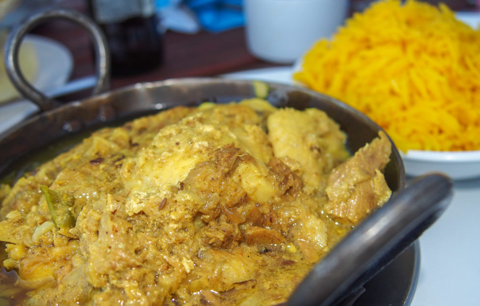 Fish curry - Café Kisimul