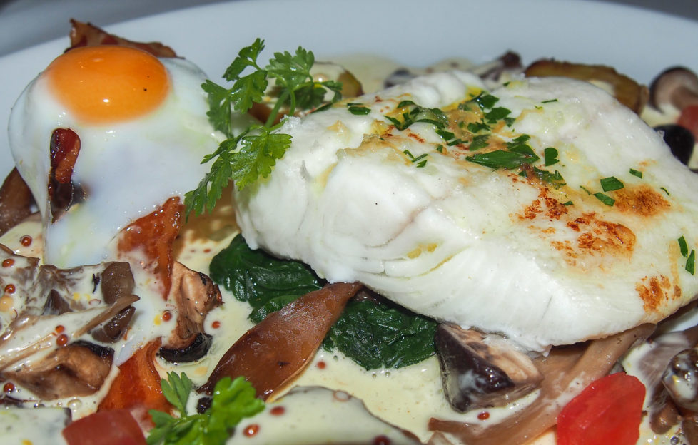 Halibut - Stockbridge Restaurant