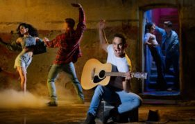 Footloose - The Musical rocks onto the Festival Theatre stage in February. Photo by David Ellis for Boom Ents.