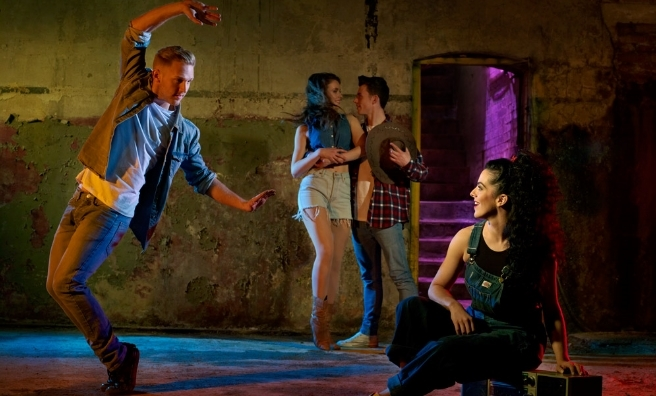 Brush off your dancing shoes - it's time to Footloose! Photo by David Ellis for Boom Ents.
