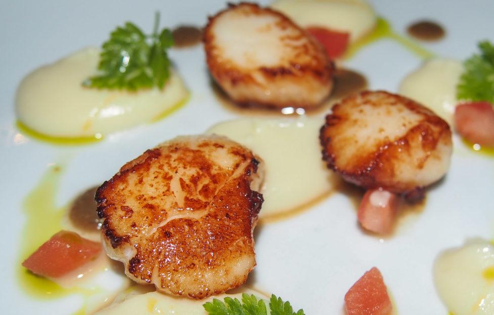 Scallops - Stockbridge Restaurant