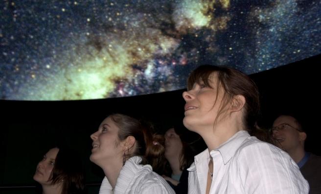 Stargazing always proves popular at British Science Week. Photo courtesy of British Science Association