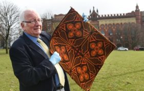 Alan Robertson, once an apprentice at James Templeton and Son carpet factory and went on to become Head Designer and curator of social history with Glasgow Museums,