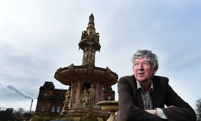 John Richmond, great grandson of A E Pearce, creator of the colossal Doulton Fountain, was one of the first visitor to On The Green at the People's Palace