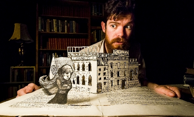 The Bookbinder - a story of mystery, intrigue and charm. Photo by Philip Merry