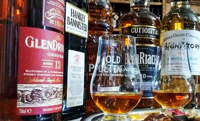 The Perfect Blend at Mary King's Close - history, whisky and ghostly goings-on. Photo courtesy of The Real Mary King's Close