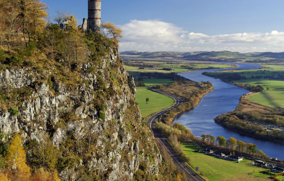 Kinnoul Hill gives a great view for surprisingly little effort. Pic: Shutterstock.