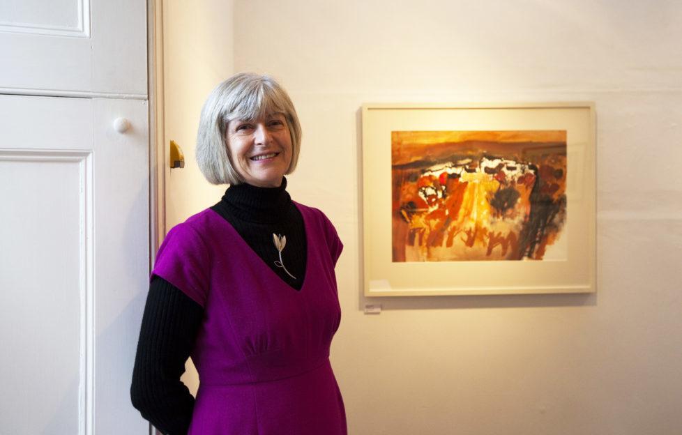 Oil painter Hazel Campbell. Pic: Spring Fling
