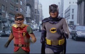Batman and Robin - our favourite super heroes - are at Edinburgh International Film Festival