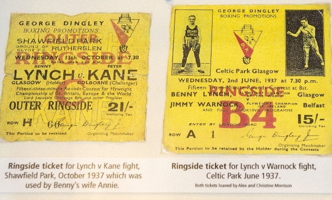 Much coveted tickets to Lynch fights