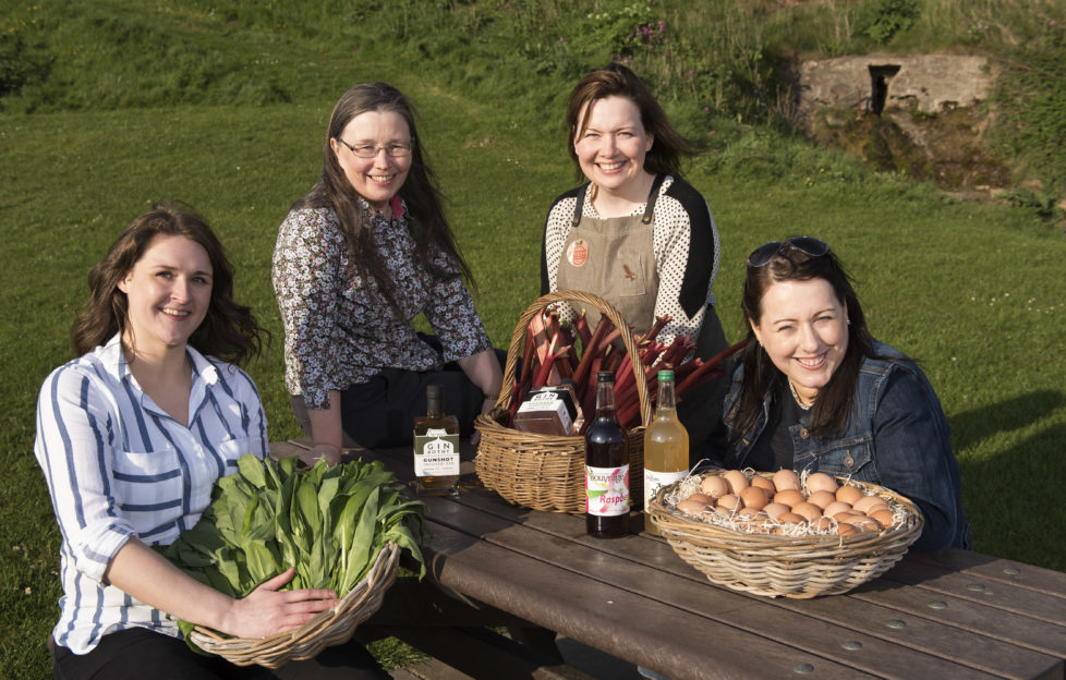 A few of the delicious products The Food LIfe offer. Photo by Andy Thompson for Angus Council