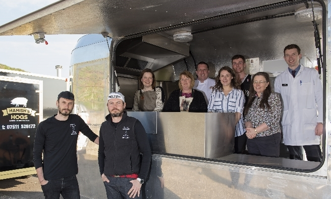 The Food Life offers the chance to experience excellent Angus food and drink. Photo by Andy Thompson for Angus Council