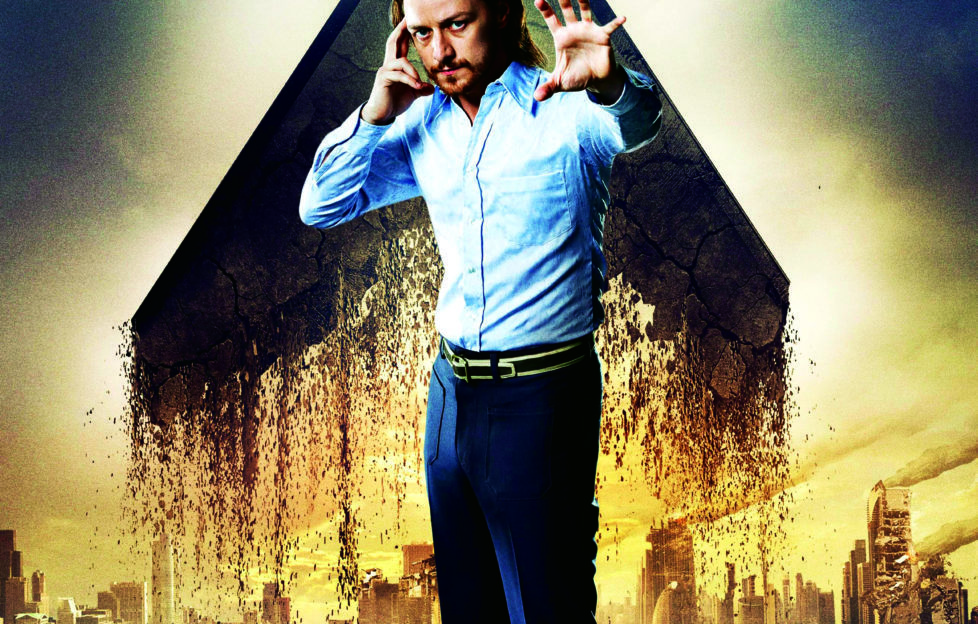James McAvoy in X-men: Days of Future Past. Pic: Alamy