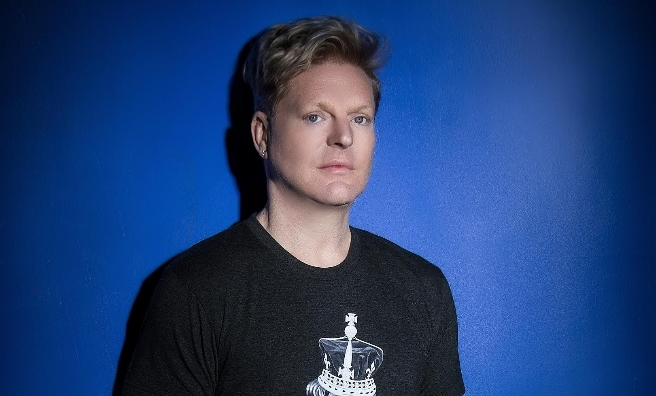 Andy Bell of Erasure will be hitting the high notes at Party at the Palace