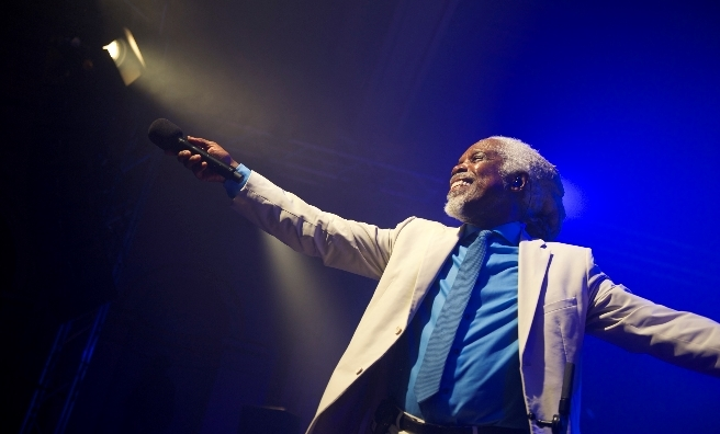 Billy Ocean - in the spotlight at Party at the Park
