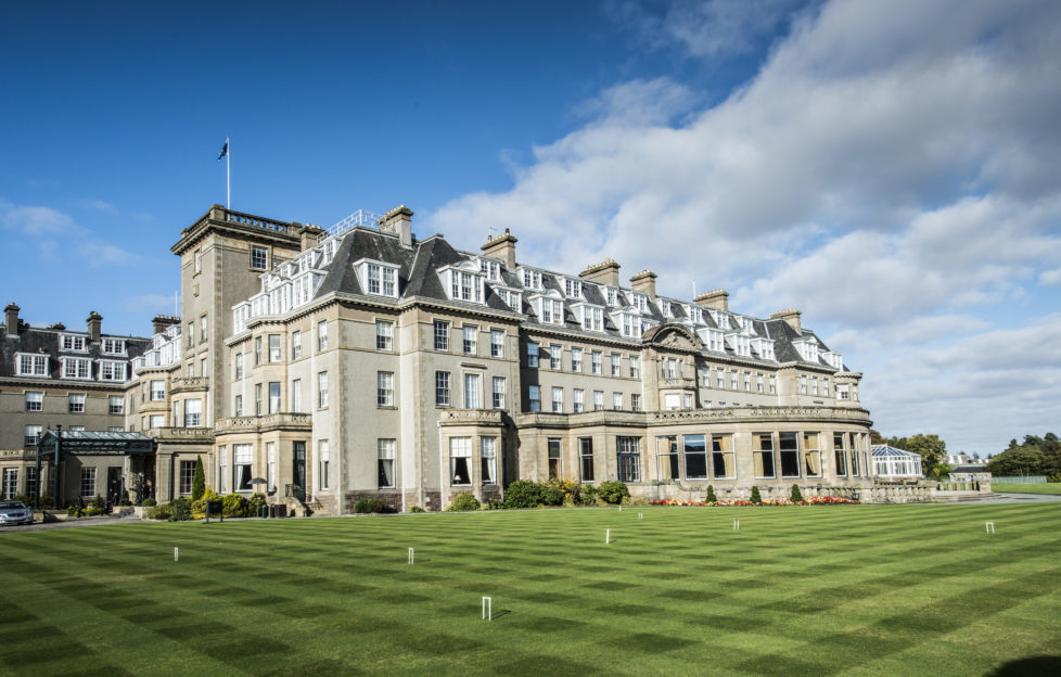 Gleneagles Hotel - where you could be staying with our giveaway