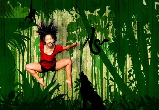 It's a jungle out there at the Dundee Rep!