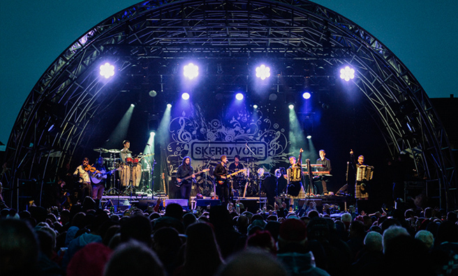 Skerryvore are back at Oban Live!