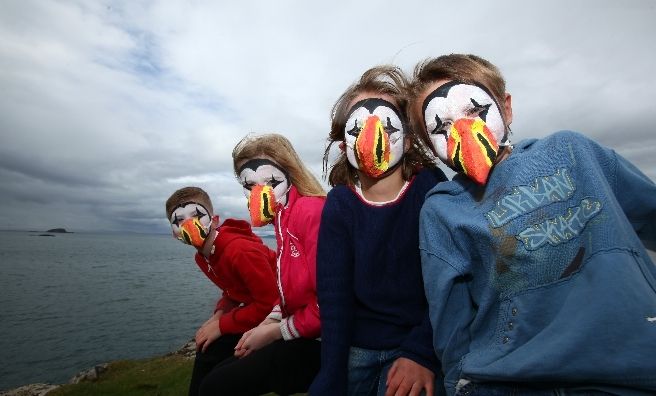 Look out for giant puffins when Puffin Fest flies in to the North Berwick Seabird Centre.