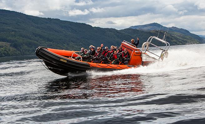 RIB inverness boat tour