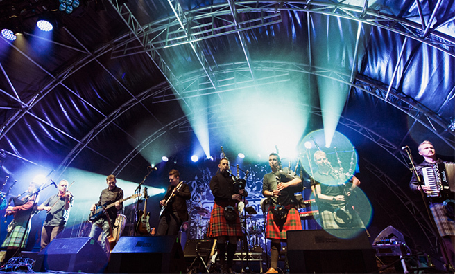 Skerryvore are playing at ButeFest this year.