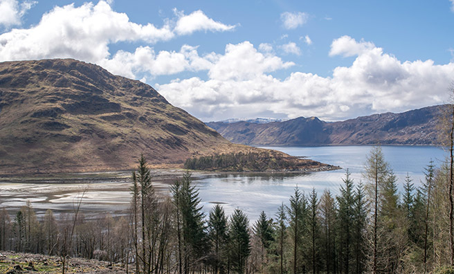 In Landward this year Dougie heads back to Knoydart for the first time in 20 years.