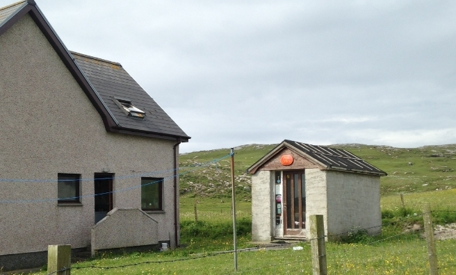 The Post Office on Vatersay
