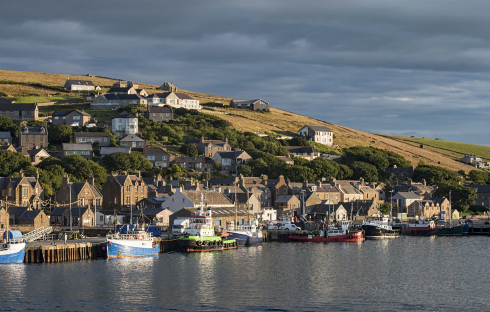 Views from the ferry back to Stromness Pic: Shutterstock
