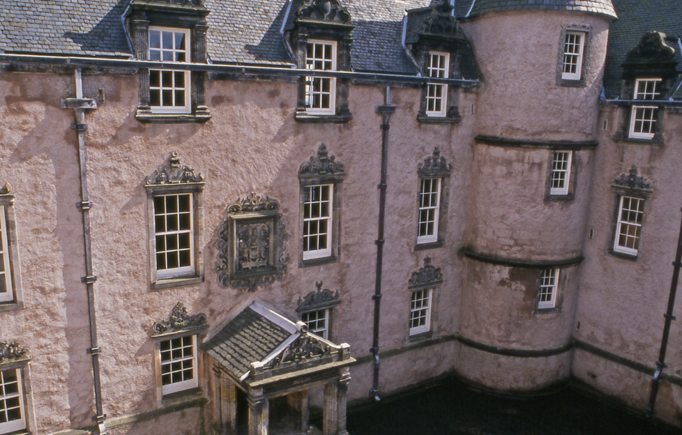 The impressive exterior of Argyll's Lodging © Crown Copyright HES
