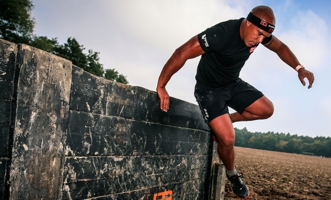 One of the many obstacles competitors will tackle in the Bear Grylls Survival Race