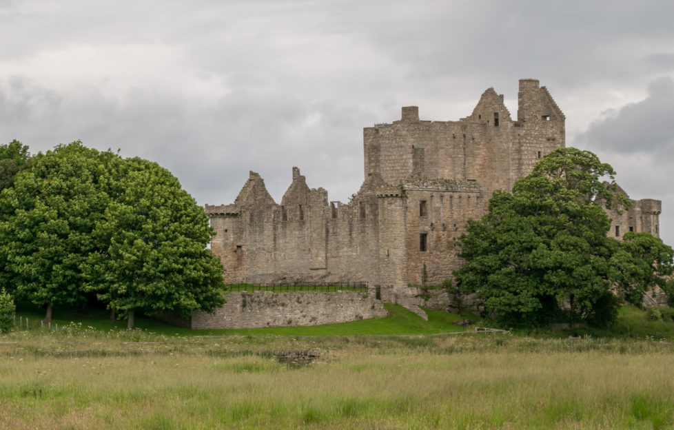 Although it's still within Greater Edinburgh, Craigmillar Castle really gets your away from the bustling centre.
