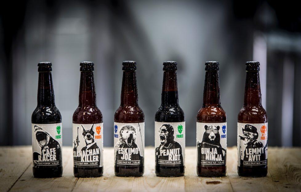 The Fierce Beer core range