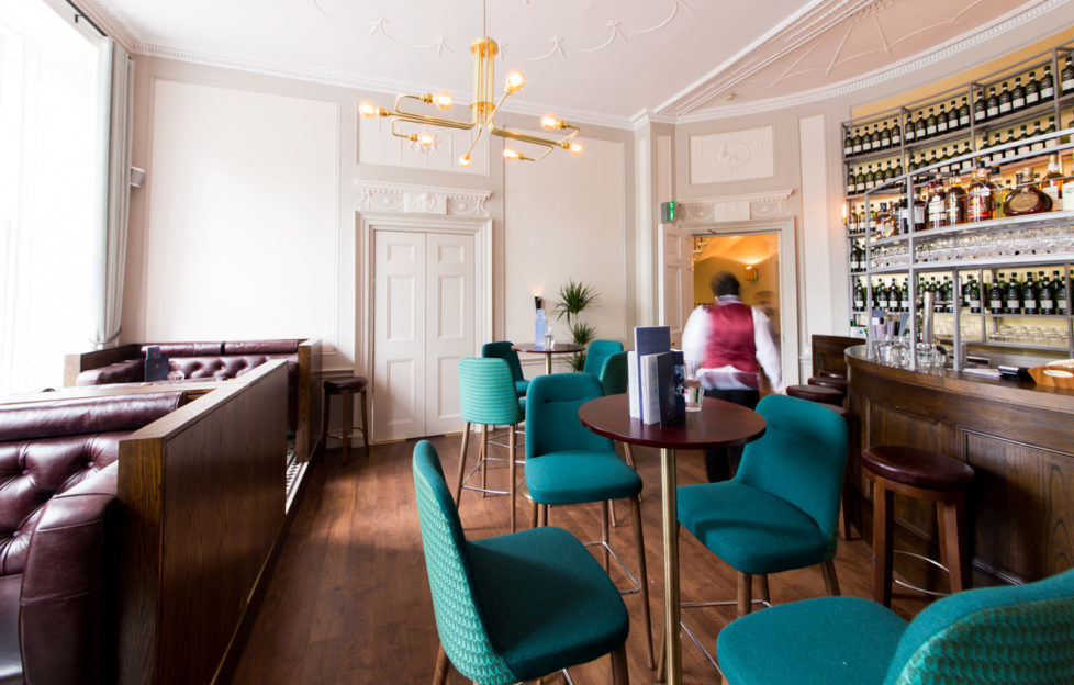 A place to relax and savour the flavours
