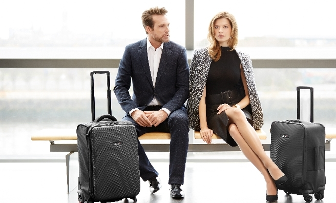 LAT_56, premium performance travel luggage was founded by award-winning Scottish designer Kevin Fox