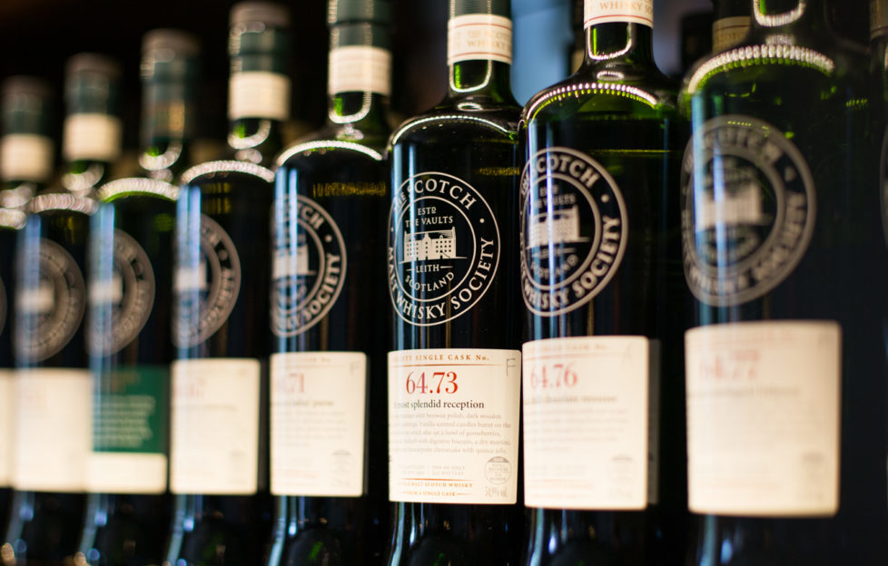 Salty or smoky? Spicy or smooth? There's a whisky for every palate at Kaleidoscope Whisky Bar.