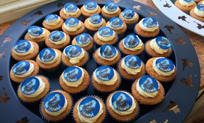 Even the delicious cup cakes were Howlat inspired!