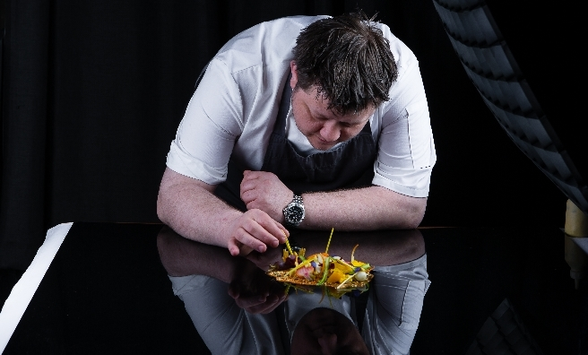 Top chef Mark Greenaway is appearing at The Saltire Festival 2016