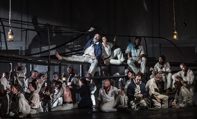Opera North's BILLY BUDD by Britten. © CLIVE BARDA/ ArenaPAL